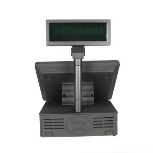 All In One POS With Pole Display