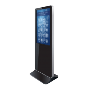 Freestanding Iphone style Touch Kiosk